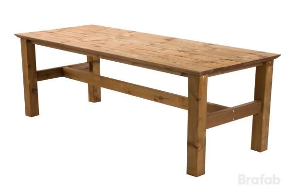 Birka matbord brun 200x100cm