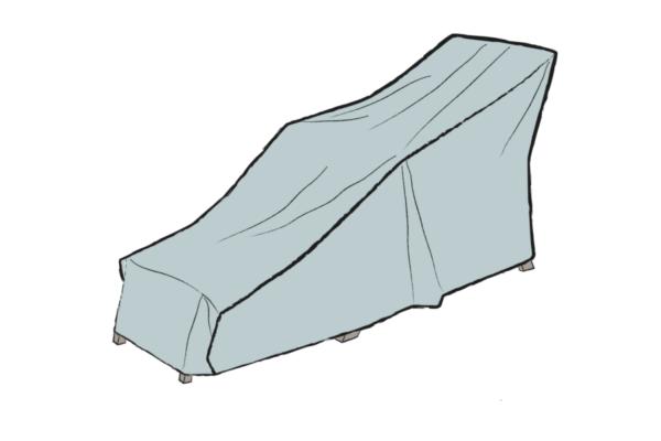 Däckstol möbelskydd Grå