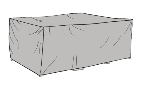 Soffgrupp möbelskydd Grå 220x220cm
