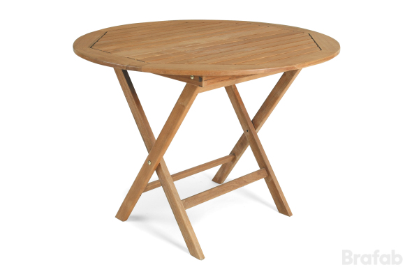 Matbord 80 eller 100 natur fällbart