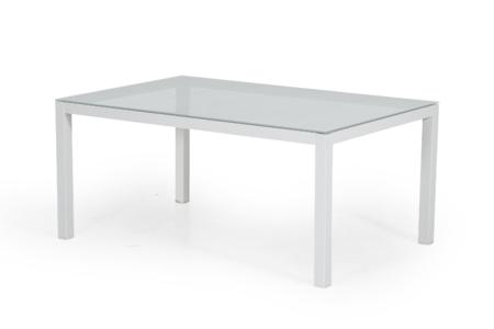 Leone soffbord med glas 120x70