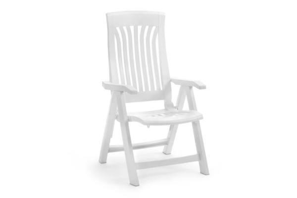 Flora positionsstol, vit eller antracit