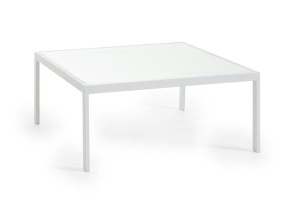 Leone soffbord med glas (90-90-40)