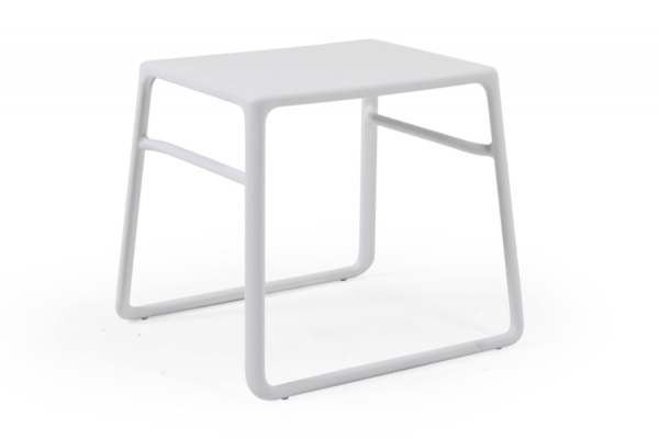 Pop sidobord, vit eller antracit