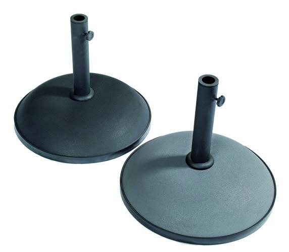 Brage parasollfot 15/35/50 kg svart