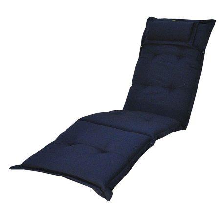 Canyon däckstolsdyna med nackkudde, blå
