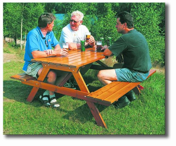 Sandhamn picknickset brun
