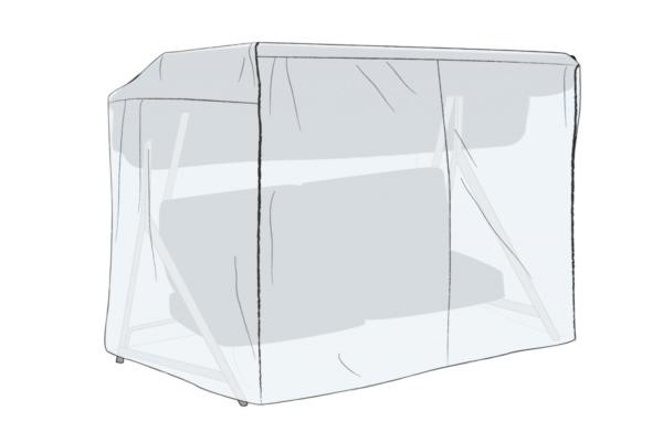 Solitär hammockskydd Transparent