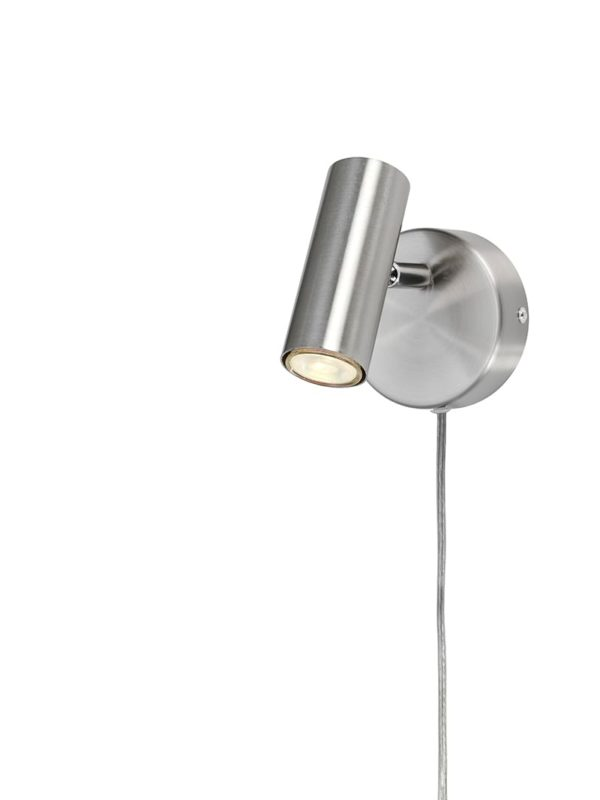 Väggspotlight Alpha Slim Aluminium