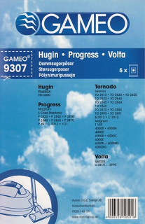 Gameo dammsugarpåse - 9307