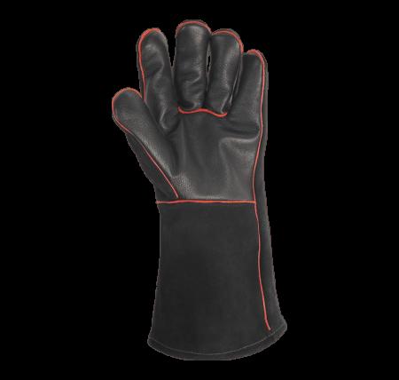 Grillhandskar i läder