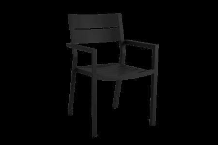 Delia karmstol - svart