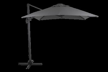 Linz frihängande parasoll grå 3m