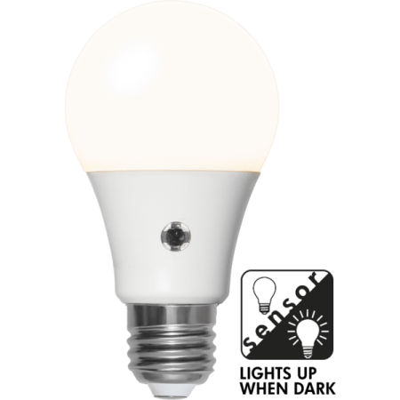 LED-lampa E27 A60 Sensor Opaque
