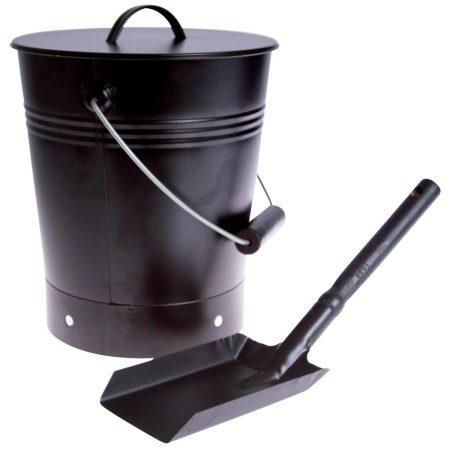 Askhink 8 liter med skyffel