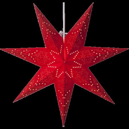 Pappersstjärna Sensy Röd